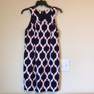 Crown & Ivy print summer shift dress size 8